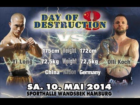 Yi Long vs Olli Koch - Day of Destruction 8 - Germany