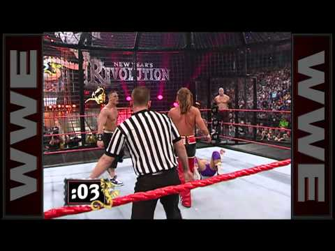 Elimination Chamber Match: New Year's Revolution 2006