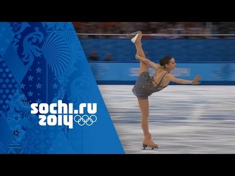 Sotnikova's Gold Medal Winning Performance   Ladies Figure Skating   Sochi 2014 Winter Olympics
