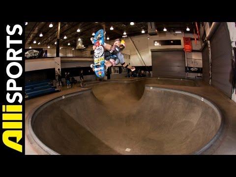 Tom Schaar on His First Vert Drop In, School + More, Alli Sports Skate My Five