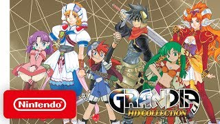 GRANDIA HD Collection - Launch Trailer - Nintendo Switch