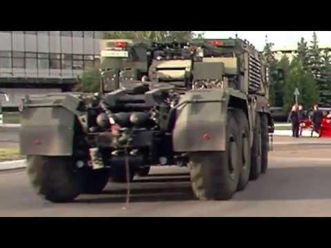 Платформа-О - ракетный тягач КАМАЗа