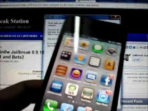 Jailbreak 5.0.1 Common Errors Episode 1: Not going in DFU Mode iPhone iPod and iPad