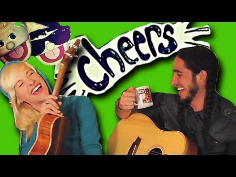 CHEERS (Drink To That) by Gianni and Sarah [Walk off the Earth] Music Videos