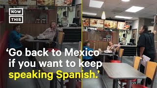 Burger King Manager Defends Staff From Customers' Racist Comments | NowThis