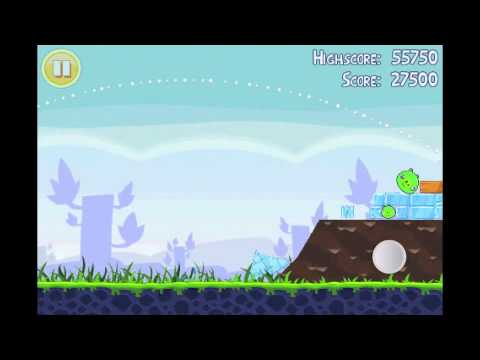 Angry Birds Lite | 3 Star Walkthrough | Level 8