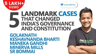 5 Landmark Cases That Changed India's Governance: Golaknath, Keshvananda Bharti, etc. [UPSC CSE/IAS]