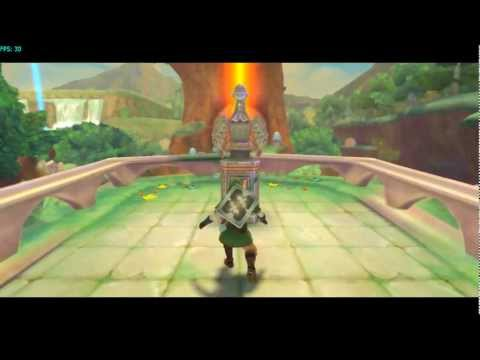 Zelda: Skyward Sword (HD) - Motion Plus emulated on Dolphin