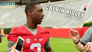 Calvin Ridley talks about the upcoming season after his record breaking freshman season
