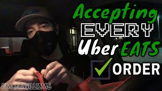 Accepting ALL Uber Eats Deliveries During Coronavirus Pandemic (Part 1)