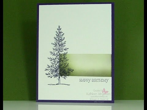 Stampin Up Lovely As A Tree Stamp Set 11 24 2014 YouTube