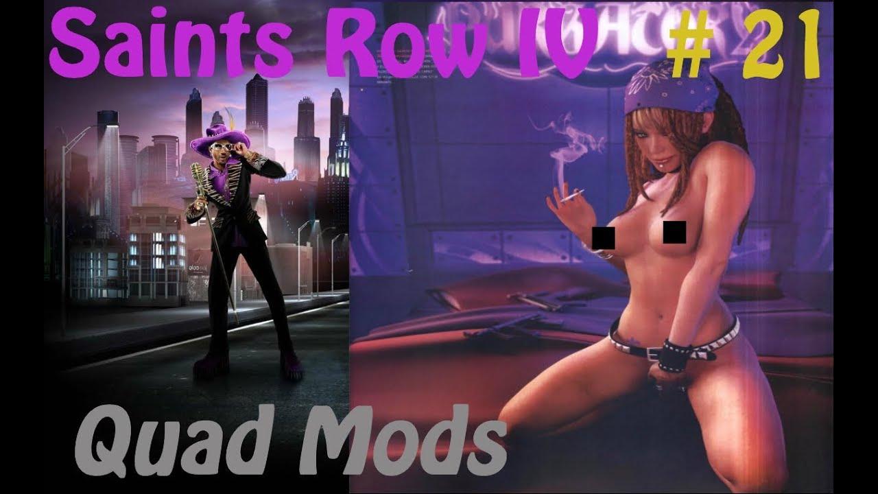 Lets Play Saints Row IV Pt 21: Shaundi Naked! - YouTube