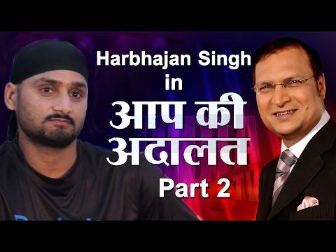Harbhajan Singh In Aap Ki Adalat  Part 2