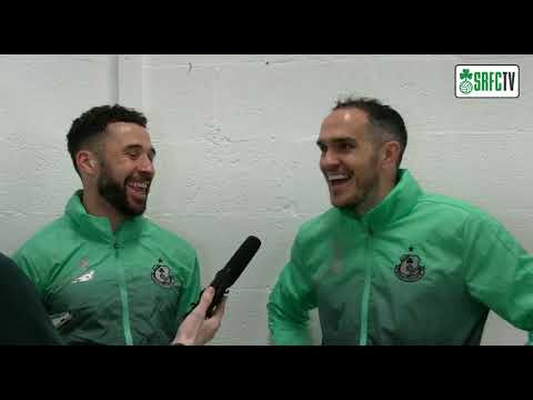 Roberto Lopes & Joey O'Brien | Post Match Interview v Cork City | 24th May 2019