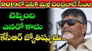 Chandrababu Naidu Will be CM of AP in 2019 Said Mgk Astrologer | Ap Politics | Top Telugu Media