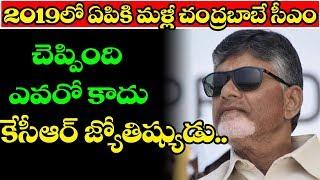 Chandrababu Naidu Will be CM of AP in 2019 Said Mgk Astrologer | Ap Politics | Top Telugu Media