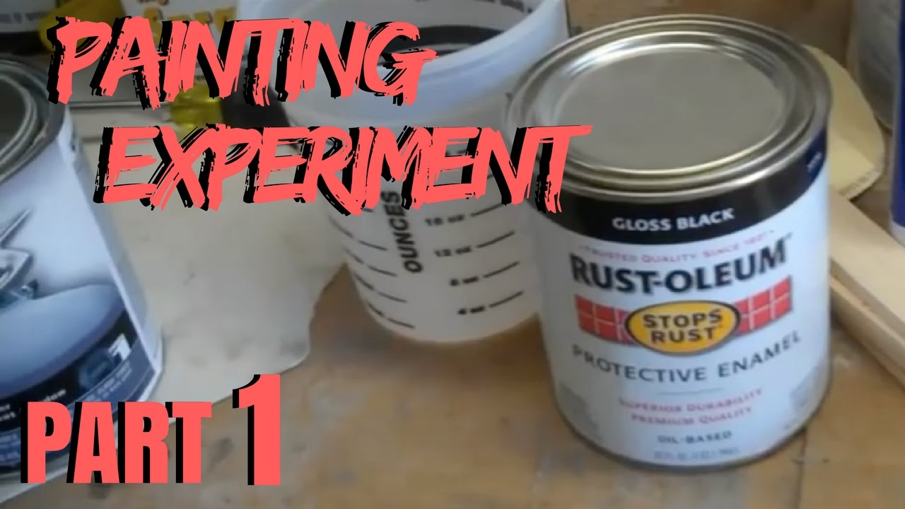 c10 rustoleum painting experiment 1 youtube. Black Bedroom Furniture Sets. Home Design Ideas