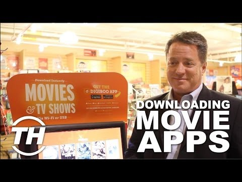Movie Downloading Apps - The Digiboo Kiosk Offers a Variety of Smartphone-Accessible Entertainment