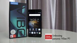Unboxing Lenovo Vibe P1 (TURBO)- Dark Grey