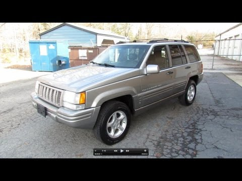 1998 Jeep Grand Cherokee 5.9 Limited Start Up. Exhaust. In Depth Tour. and Test Drive