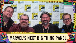 Best of: Marvel Comics Next Big Thing Panel @ SDCC 2019