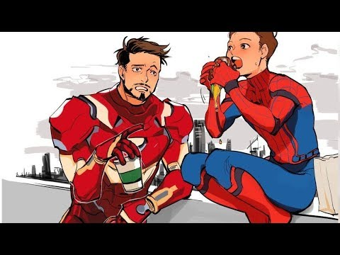 30+ Hilariously Funny TONY STARK & PETER PARKER Comic To Make You Laugh.