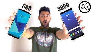 $80 Samsung Galaxy S8 vs $800 Samsung Galaxy S8!