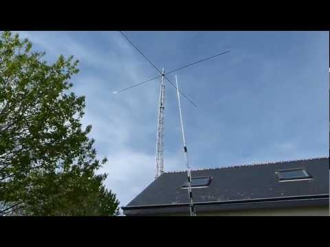 NEW TOWER WITH NEW SPIDERBEAM ANTENNA HD 5 BDS