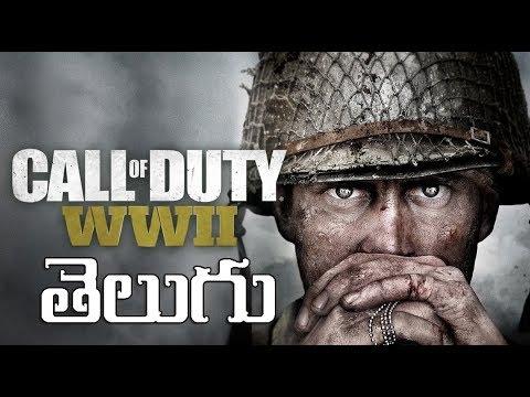 [ తెలుగు ]  Call of Duty : World War II in Telugu | PUBG TELUGU Gamer Plays COD | KTX Telugu Gamer