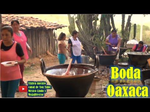este es el trabajo y colaboracion de la gente en una BODA en Oaxaca