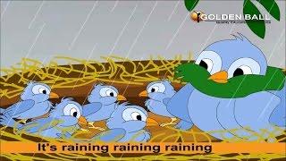 It's Raining Raining Raining Rhyme - Rain Songs For Kids I English Rhymes For Children | Kids Poem