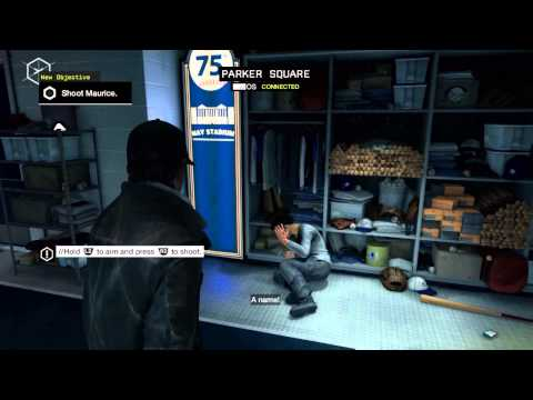 WatchDogs First Cut Scenes