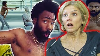 Download Lagu Mom REACTS to Childish Gambino - This Is America (Official Video) Gratis STAFABAND
