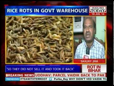 Bihar State Food Corporation wastes food on massive scale