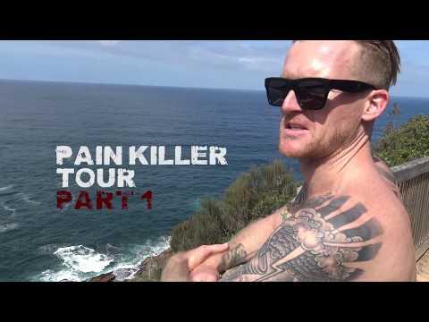Mitch Faber Pain Killer Skateboard Tour Part 1