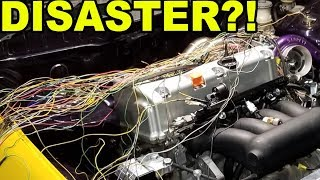 LAMBO KILLER BUILD | 600HP AWD TURBO HONDA CIVIC | ECU MASTER BLACK