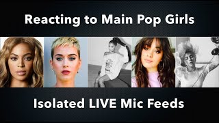 Download Lagu Reacting to MAIN POP GIRLS isolated LIVE Mic feeds Gratis STAFABAND