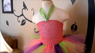 How to Attach a Felt Embellishment to a Tutu Dress Crochet Top