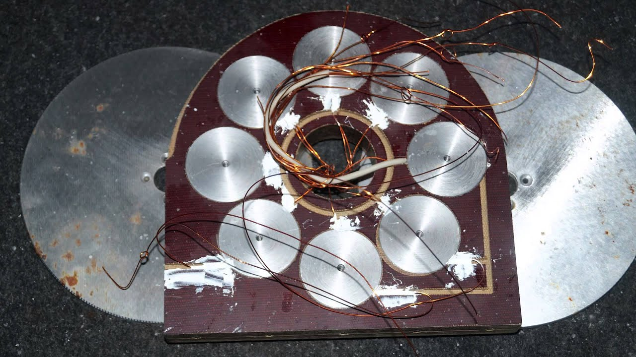 Ветрогенератор своими руками на дисках