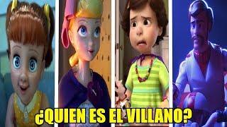 ¿QUIEN es EL VERDADERO VILLANO en TOY STORY 4? | TOY STORY 4