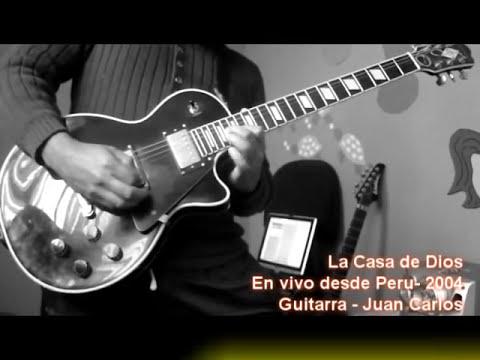 ( DANILO MONTERO EN VIVO PERU - 2004 ) LA CASA DE DIOS - GUITARRA - SOLO