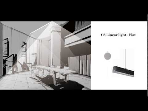 [LED Linear Lighting with Different Shapes] Video