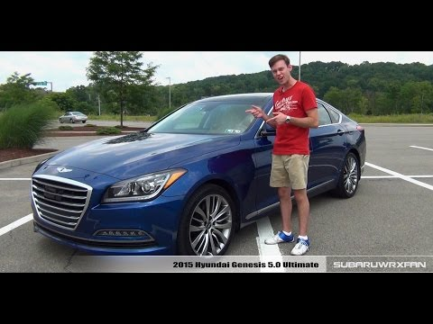 Review: 2015 Hyundai Genesis 5.0 Ultimate