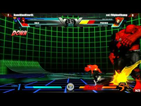 NorCal Regionals 11: UMVC3 KaneBlueRiver Vs. Col. Filipino Champ - Top 16 Winners
