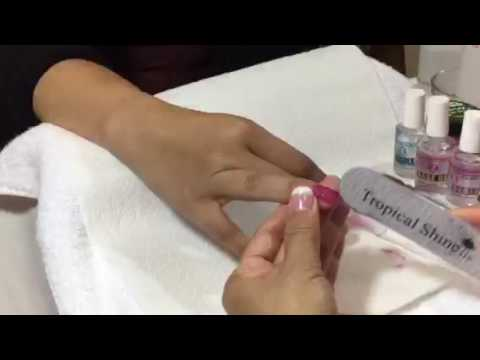 How To Apply Dip Gel Nails   Healthy Nails