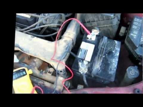 Como saber si falla el alternador o la bateria,  reparacion de carros