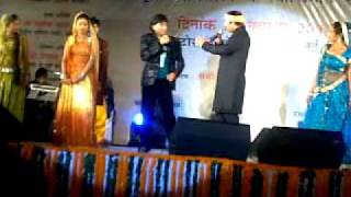 Manoj Tiwari and Raju Srivastava - In new delhi - Bhojpuri Samaz Events