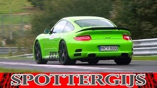 Exclusive: RUF RGT-8 Prototype in action + V8 sound!
