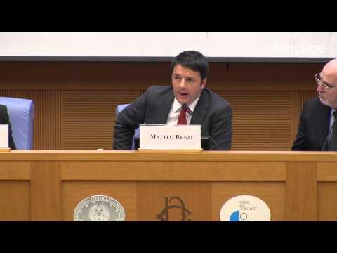 Conferenza di fine anno di Matteo Renzi:
