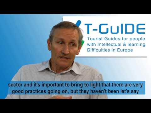 Introducing T-GuIDE. A European training project for tourist guides